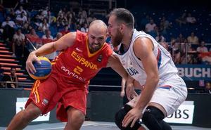 Sánchez y Rojas, sextos con España en el Europeo 3x3