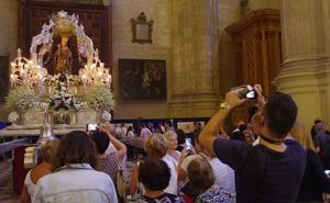 La Hermandad de la Victoria programa para este viernes el regreso de la Patrona de Málaga a su santuario