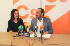 Ciudadanos se planta y exige bonificar todas las plusvalías por herencia para apoyar las ordenanzas fiscales