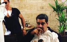 Un banquete de Maduro indigna a los venezolanos