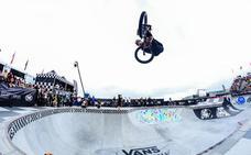 Larry Edgar, el gran atractivo del Mundial de BMX Pro Cup que se celebra en el Skate Park de Málaga