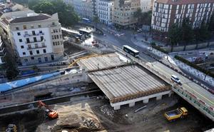 El nuevo puente de Tetuán encara la recta final para su reapertura tras las obras del metro