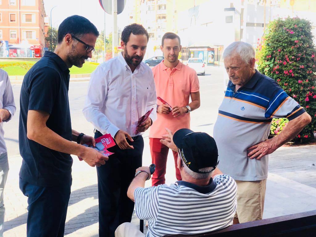 Daniel Pérez se congratula de que otros grupos políticos «se sumen la transformación de Málaga en 'Ciudad Libre de Plusvalías'»