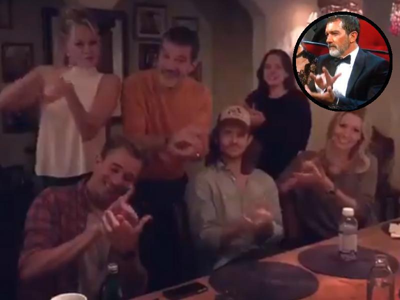 Vídeo | La genial explicación de Antonio Banderas a su aplauso viral de los Emmys 2018
