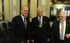 Mario Vargas Llosa: «La transformación de Málaga es realmente prodigiosa»