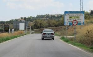 La Diputación reparará dos carreteras de acceso a Alhaurín el Grande