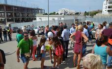 Rincón exige a la Junta reparar deficiencias en las aulas prefabricadas del nuevo instituto
