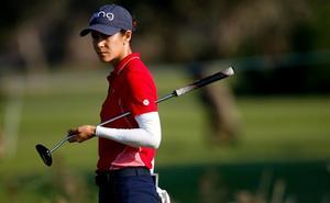 Azahara Muñoz, quinta en el arranque del Estrella Damm Ladies Open