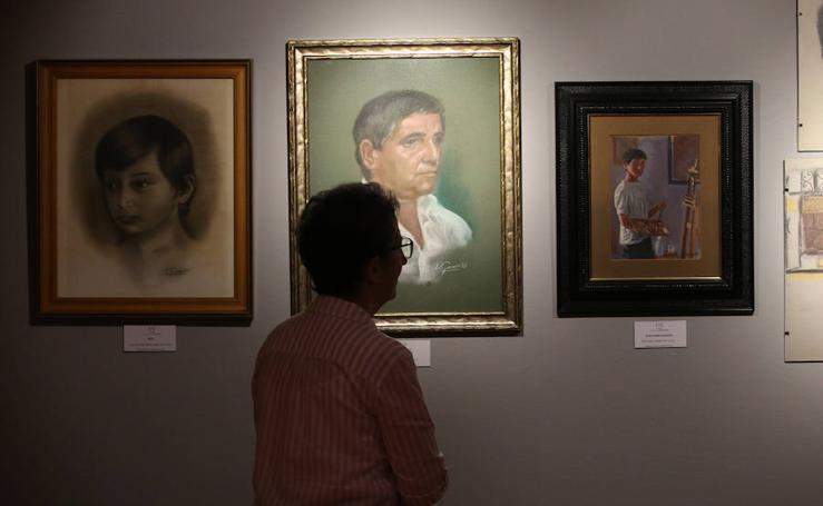 Así es la exposición de las obras del Niño Pintor