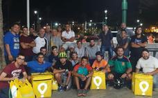 La rebelión de los 'riders' llega a Málaga con una 'huelga' de repartidores de Glovo