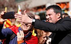 Valls será candidato a la alcaldía de Barcelona pero con una lista más amplia que Ciudadanos