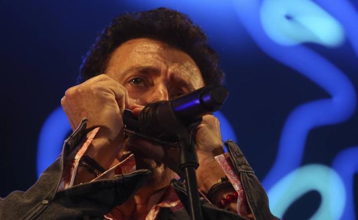 Concierto de Manolo García en el Auditorio de Málaga