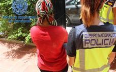 Liberan a diez mujeres prostituidas en Málaga en condiciones infrahumanas y detienen a 15 personas de una red de trata
