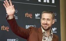 Ryan Gosling monopoliza la jornada en San Sebastián