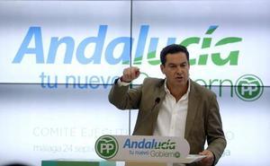 Moreno introduce la polémica nacional sobre Cataluña en la precampaña de las andaluzas