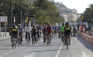 Alta participación ciudadana en la Semana Europea de la Movilidad en Málaga