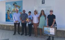 Torre del Mar dedica un mural al pintor Francisco Hernández