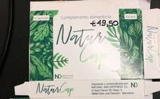 Sanidad retira del mercado el complemento alimenticio 'Natur Cap Cápsulas'