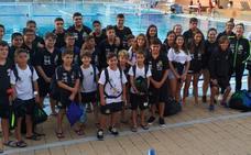 El Waterpolo Málaga participa con cuatro equipos en el torneo Water Passion de Murcia
