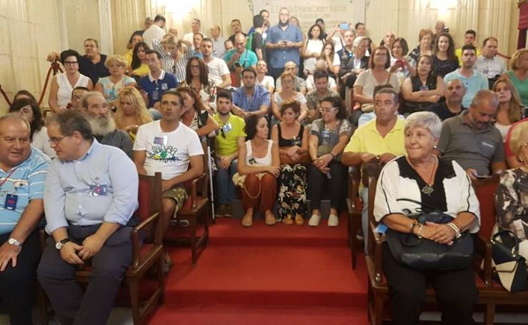Pleno extraordinario y convulso en el Ayuntamiento de Málaga
