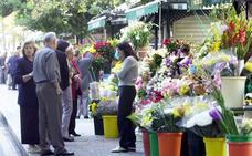 Los puestos de flores se trasladarán junto a la entrada de la calle Larios de forma temporal