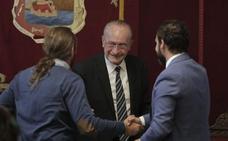 De la Torre se apoya en el PSOE para rebajar la plusvalía al margen de Cs