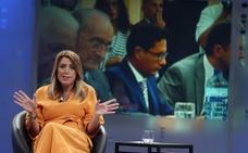 Susana Díaz: «Paco está nervioso y no está en su mejor momento»