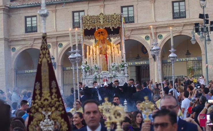 Procesión de la Señora de la Merced, titular de la Hermandad de la Humildad