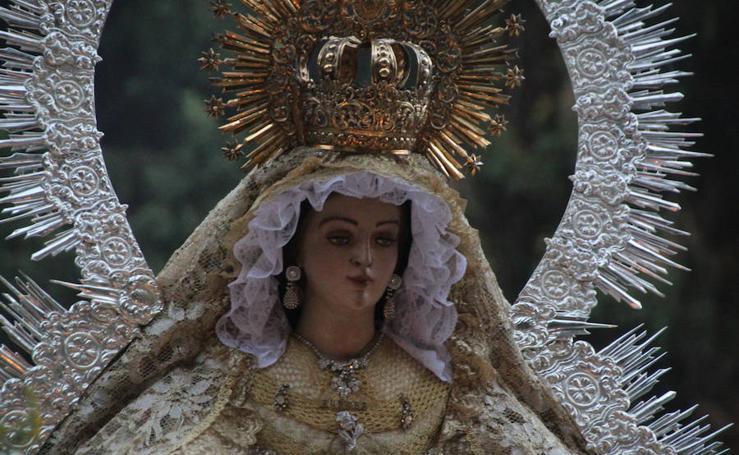 Procesión de Nuestra Señora de la Aurora por Ronda