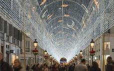 Málaga ya tiene fecha para encender el alumbrado navideño