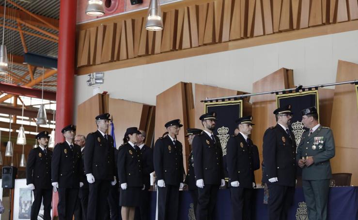 La Policía Nacional celebra en Málaga la festividad de su patrón