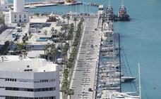 El Puerto de Málaga abre el concurso para una marina de megayates en los muelles 1 y 2