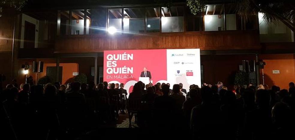 Así ha sido la presentación del directorio de empresas de Málaga 'Quién es quién'