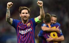 Messi, en modo The Best