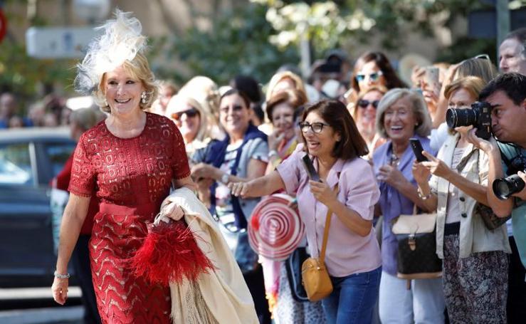 La boda de los duques de Huéscar reúne a lo más granado de la sociedad española