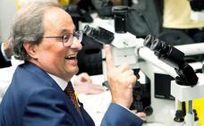 El president reitera su ultimátum a Pedro Sánchez pero el líder de ERC se escabulle