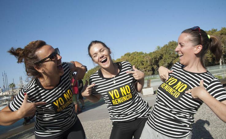 Málaga se suma a la I carrera de obstáculos 'Yo No Renuncio'