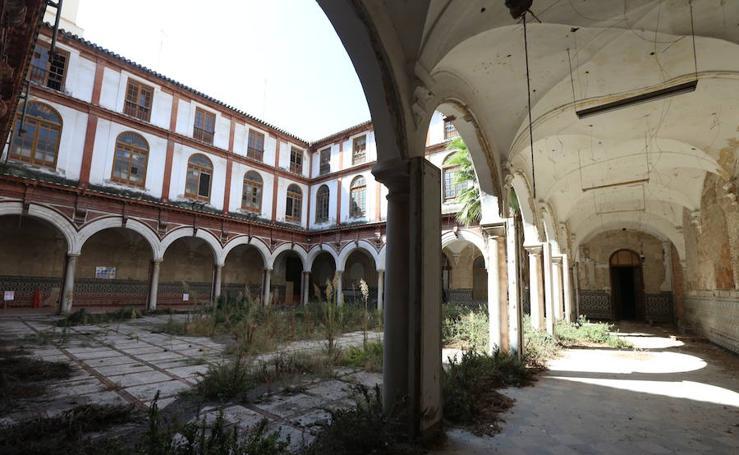 Así se encuentra el antiguo Convento de San Agustín en Málaga