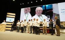 Juan Mari Arzak, premiado en los 20 años de San Sebastian Gastronomika