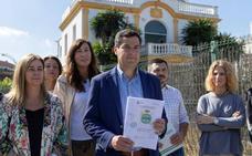 Juanma Moreno (PP): «Díaz está cercadapor la corrupción»