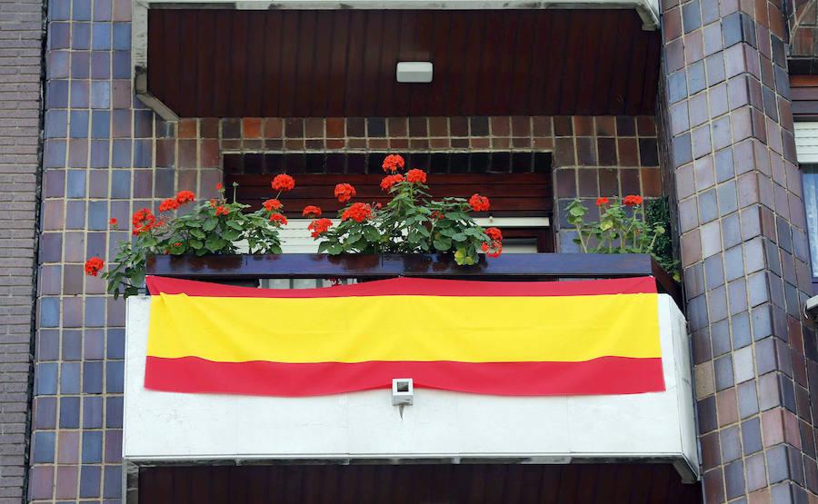 El PP pretende reeditar la campaña de las banderas en los balcones