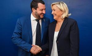 Salvini y Le Pen preparan su 'revolución'