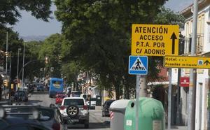 Un cambio de sentido en Campanillas complica aún más los accesos al PTA