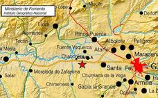 Un terremoto de magnitud 4 con epicentro en Granada se deja sentir en Málaga
