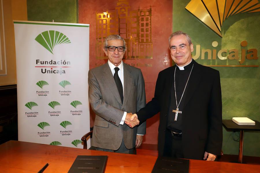 La Fundación Unicaja renueva su apoyo a la labor cultural, educativa y social del Obispado de Málaga