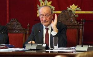 El alcalde de Málaga tacha de «deleznable» la actuación del portavoz del PSOE en la comisión de investigación de Urbanismo