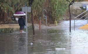 Todos los vídeos de las últimas lluvias en Málaga