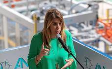 Susana Díaz pide a Pablo Casado que se «tranquilice», «abandone el insulto» y tenga «respeto a los andaluces»