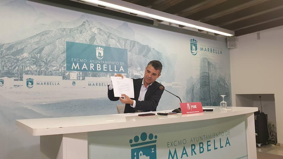 El PSOE critica la gestión del temporal por parte del equipo de gobierno