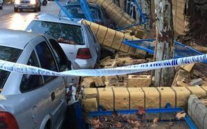 Una tromba de agua provoca importantes destrozos y bloquea durante horas los accesos a Marbella